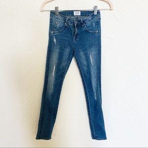 Hudson Skinny Jeans | Girls Sz 10 Distressed